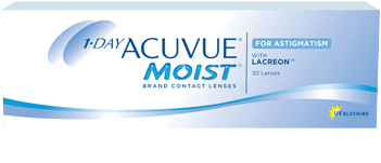 1-DAY ACUVUE® MOIST for ASTIGMATISM produktbild